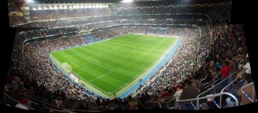 Goleada del Real Madrid en el Santiago Bernabéu.