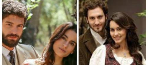 Il Segreto: Ines e Bosco come Pepa e Tristan