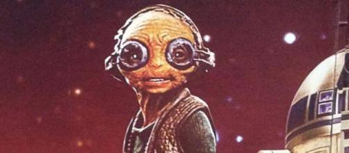 Maz Kanata, personaje de Star Wars