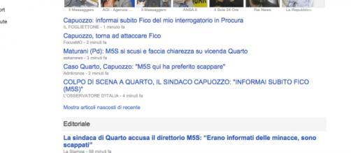 Rosa Capuozzo, sindaca di Quarto, ex M5S