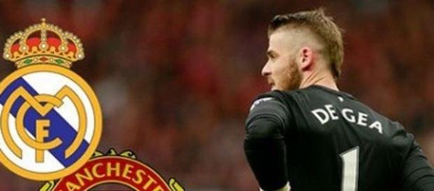 David de Gea con el Manchester United