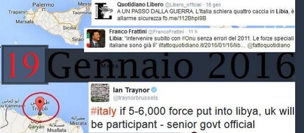 Italia vicinissima al conflitto militare in Libia