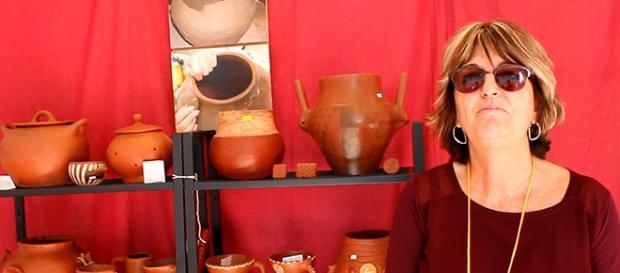Maite, empresaria artesana de Las Palmas.