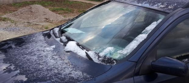 Sul Salento c'è stata la neve.