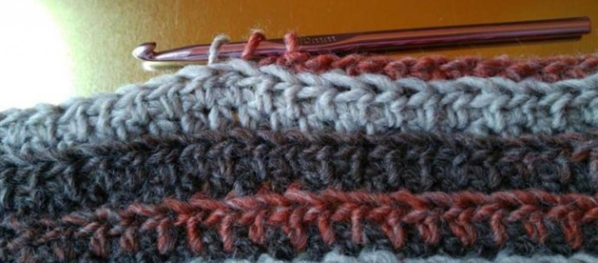 Boutique en ligne 69a5e e1930 Tutorial: cómo tejer una bufanda a crochet para hombre