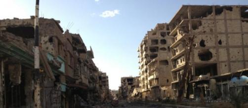Deir el Zour, una città devastata