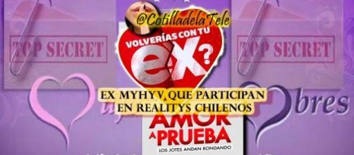 Ex MYHYV que participan en Realitys chilenos