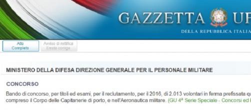 Il portale della Gazzetta Ufficiale