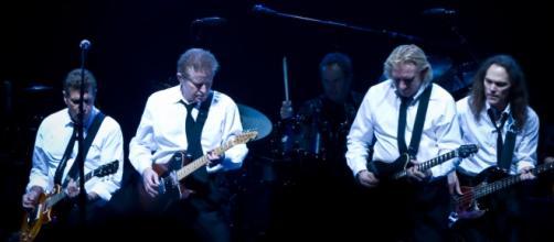 La banda en uno de sus conciertos