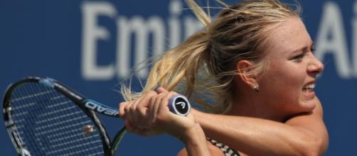 Maria Sharapova via Flickr user Marianne Bevis