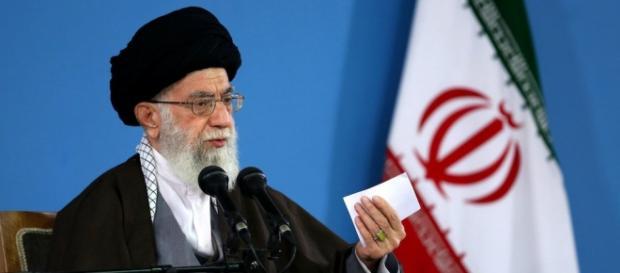 Ajatollah Ali Chamenei – przywódca Iranu.