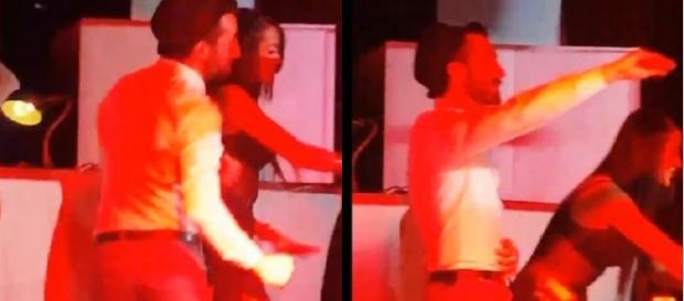 El polémico vídeo de Aritz en una discoteca