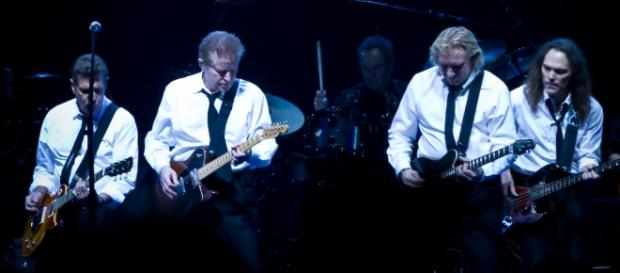 Glenn Frey, left, died in New York.
