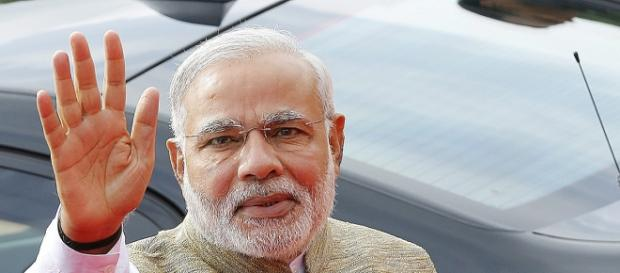 Indian PM Narendra Modi second in the Twitter race
