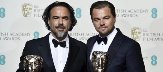 Leonardo Di Caprio y Alejandro González Iñárritu