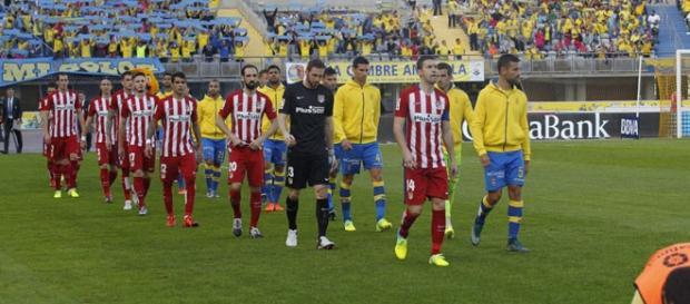 Los onces del Las Palmas-Atlético de la jornada 20
