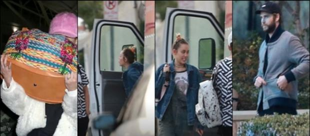 Miley e Liam estão morando juntos