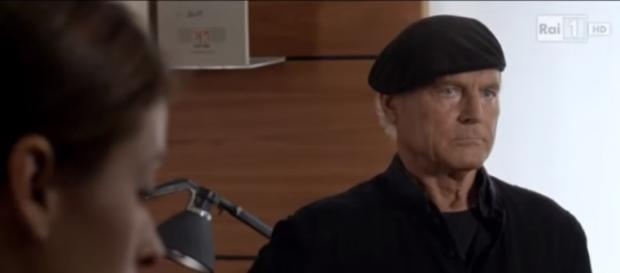 Terence Hill nella fiction Don Matteo 10