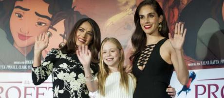 Salma Hayek, Loreto Peralta y Sandra Echeverría