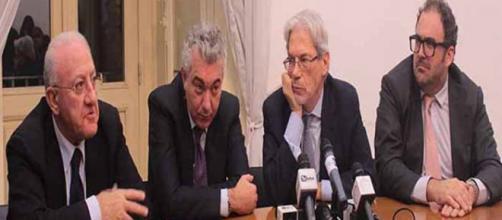 Bagnoli - Conferenza stampa Prefettura di Napoli
