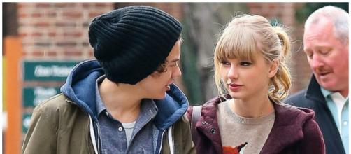 Harry Styles e Taylor Swift em 2012