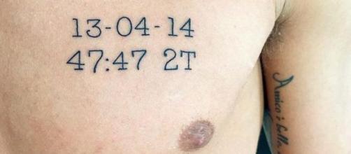 Il tatuaggio di Alessio Cerci.