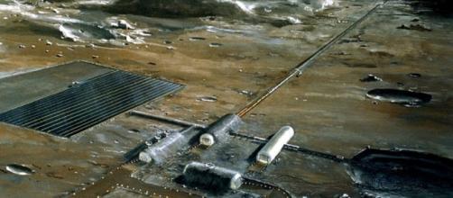 NASA concept of a future lunar base
