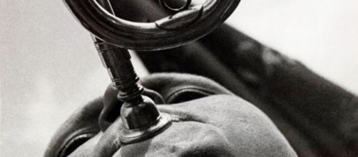 """Pionero con trompeta"". Alexander Ródchenko, 1930"