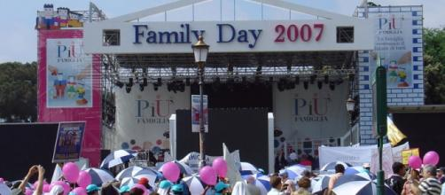 Un frame di un Family Day del 2007