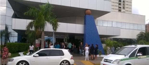Foto de Ed Ricardo: Fogo em Hospital em Cuiabá