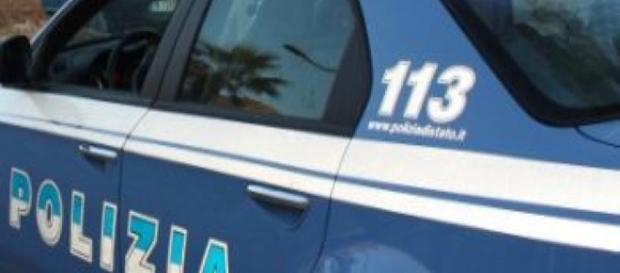 Intervento della Polizia di Stato