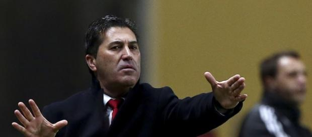 José Peseiro ainda como treinador do SC Braga