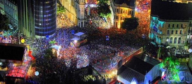 Recife em dia de Carnaval (Foto: Catraca Livre)
