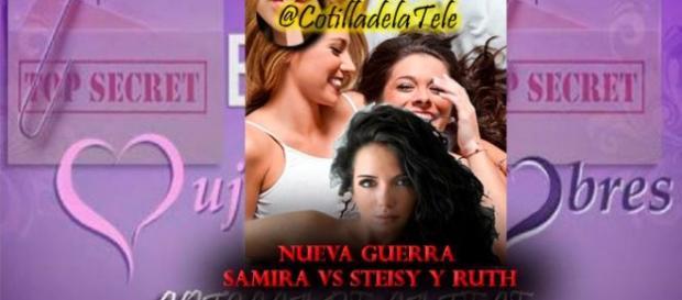 Samira enfrentada a Steisy y Ruth
