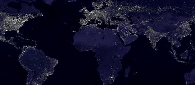 Satellite image of earth (Wikipedia)