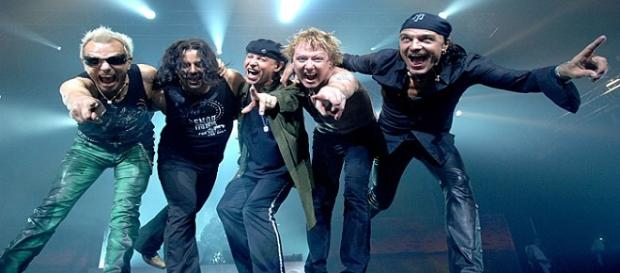 "Scorpions en el ""50th Anniversary World Tour"""