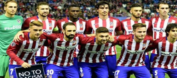 Uno de los onces del Atlético esta temporada