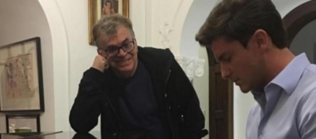 Walcyr e Klebber - Foto/Divulgação: TV Globo