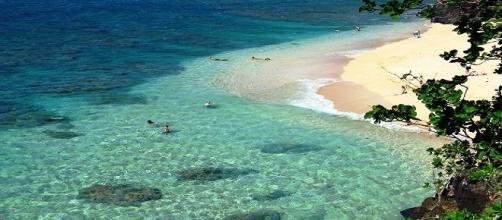 Kauai(Hawai) un bonito lugar,con un mar cristalino