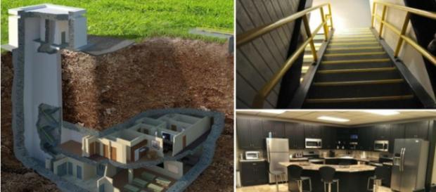 A casa subterrânea mais segura do mundo