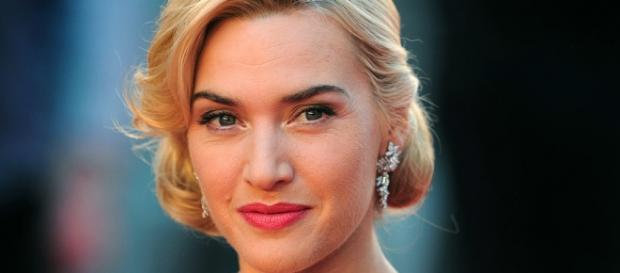 Kate Winslet en la alfombra roja