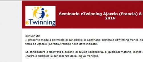 come partecipare ai seminari etwinning