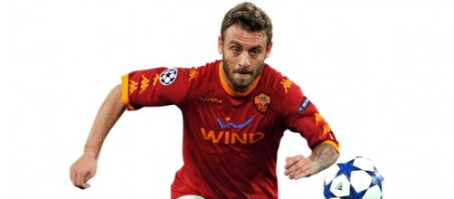Daniele De Rossi giocatore della Roma