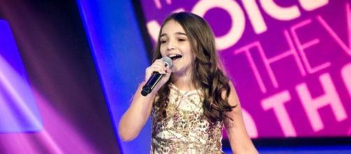 Luiza Haggsträm no The Voice Kids