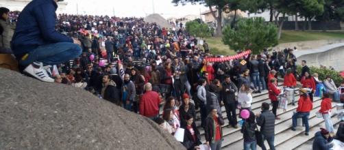 Manifestanti a favore dei diritti civili, Cagliari