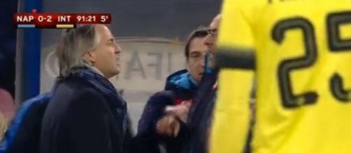 Napoli-Inter: Mancini contro Sarri