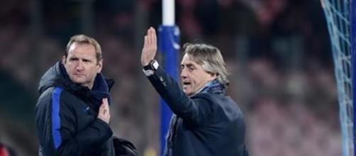Sarri e Mancini si scaldano gli animi