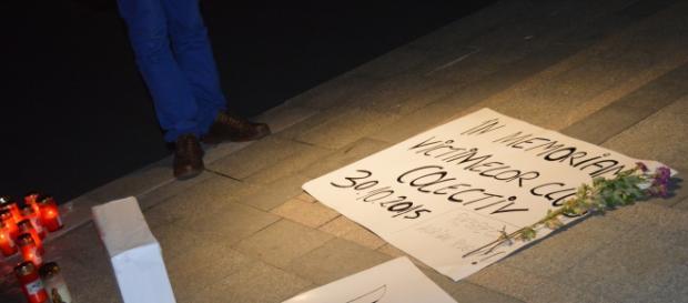 Comemorarea victimelor din Colectiv