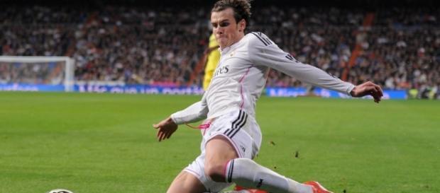 Gareth Bale en el terreno de juego