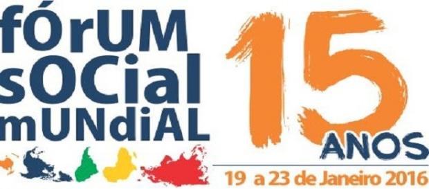 Logo oficial do Fórum Social Mundial
